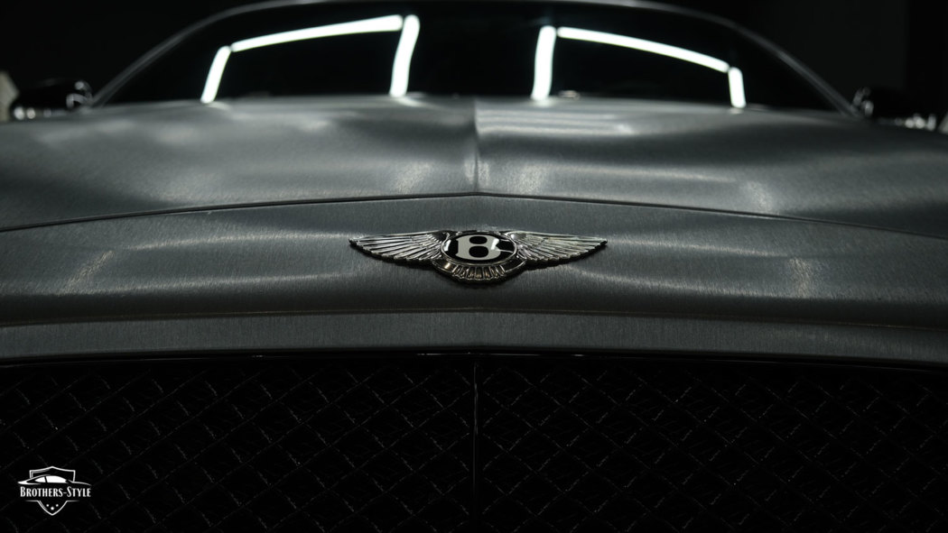 Bentley Continental GT - Brushed Graphite Metallic