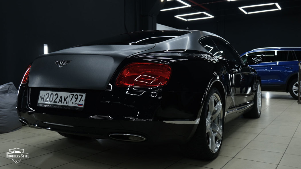 Оклейка Bentley Continental GT - Brushed Graphite Metallic